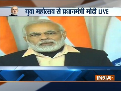Our ISRO scientists have made us proud yet again, says PM Modi addressing Youth Festival