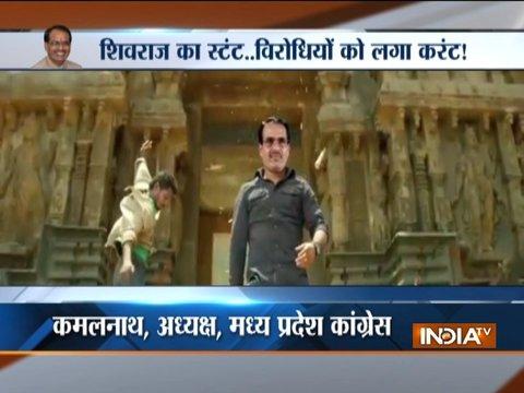 Social media dubs MP CM Shivraj Singh Chouhan as 'action hero', video goes viral