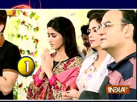 Pooja and Naren are celebrating anniversary