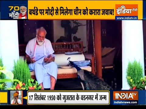 प्रधानमंत्री नरेंद्र मोदी की 70वीं वर्षगांठ, देश भर से मिल रही हैं शुभकामनाएं