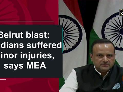 Beirut blast: 5 Indians suffered minor injuries, says MEA