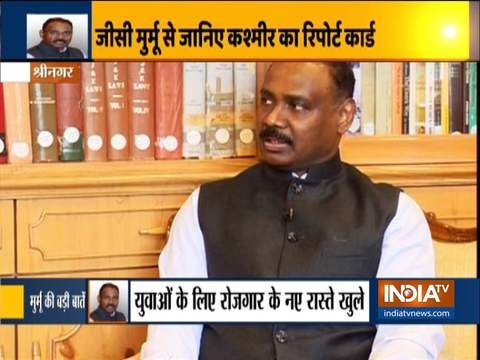 Former JK L-G Murmu Exclusive | Has abrogation of Articles 370 and 35A helped the people of JK?