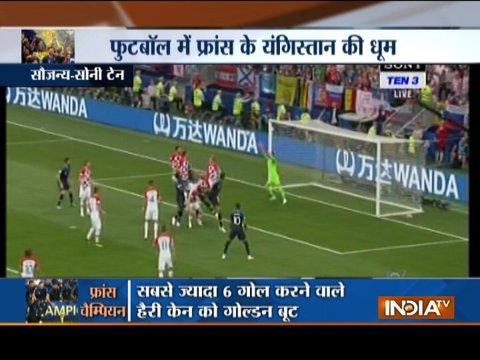 फ्रांस ने क्रोएशिया का सपना चकनाचूर कर दूसरी बार जीता विश्व कप, 4-2 से जीता फाइनल