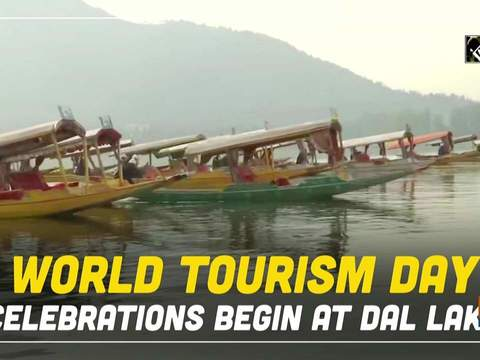 World Tourism Day celebrations begin at Dal Lake