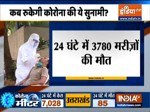 VIDEO: India records 3,82,315 new COVID cases