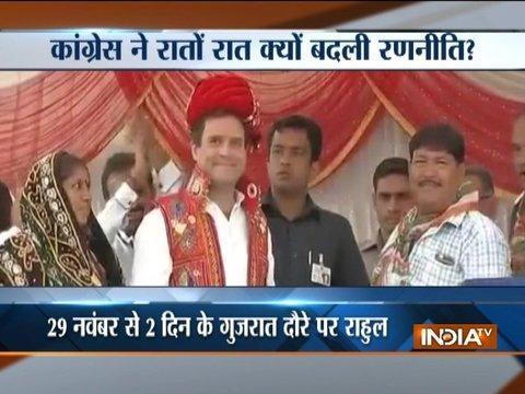 Gujarat Polls 2017: Rahul Gandhi to address rallies on 29th and 30th November