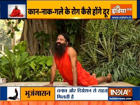 ENT प्रॉब्लम से लड़ने के लिए कारगर ये 12 योगासन, स्वामी रामदेव से जानिए तरीका