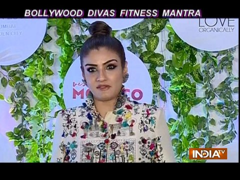 Eating right and healthy is Fitness Mantra for Ranveena Tandon, Karishma Tanna and others