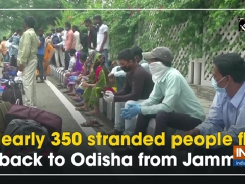 Nearly 350 stranded people fly back to Odisha from Jammu