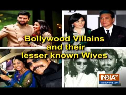 जानिए बॉलीवुड के विलेन की पत्नियों के बारे में