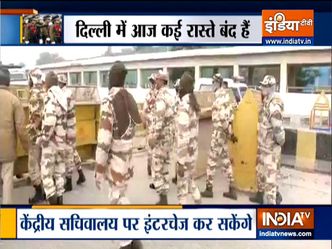 Security beefed up ahead of Republic Day full dress rehearsals