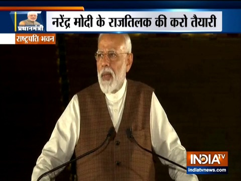PM Modi addresses media after meeting President Kovind, assures good work in days to come