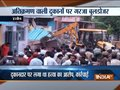 Shops outside Ujjain's Mahakal temple removed