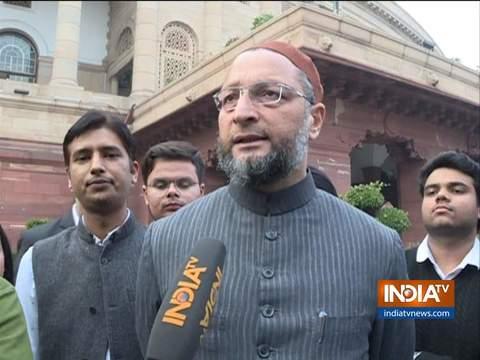 असदुद्दीन ओवैसी ने कहा कि मैं मुठभेड़ों के खिलाफ हूं, देश को कानून के अनुसार चलना चाहिए