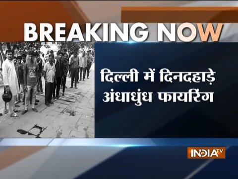 दिल्ली के बुराड़ी में अंधाधुंध फायरिंग, 1 की मौत 3 घायल