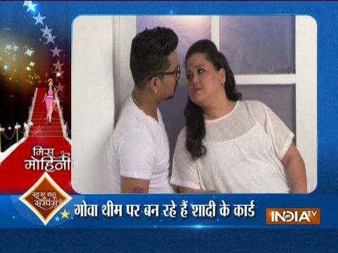 Bharti Singh announces wedding date with fiancé Harsh Limbachiyaa
