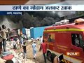 Mumbai: Massive fire breaks out in godowns at Acchar Gali in Thane's Mumbra