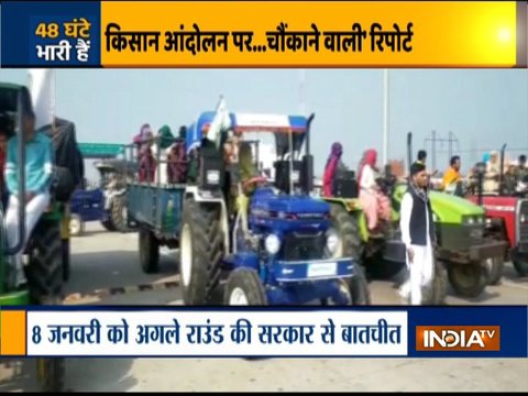 Farmers' Protest: Tractor march deferred till tomorrow due to bad weather
