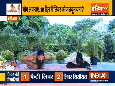 How to make your liver healthy with acupressure, learn from Swami Ramdev