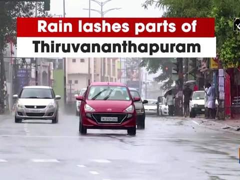 Rain lashes parts of Thiruvananthapuram