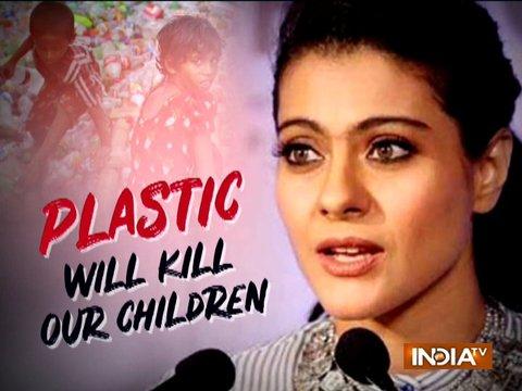 Kajol: We should say no to plastic