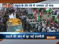 India TV Election Special: Security lapse in Rahul Gandhi's roadshow in Jabalpur