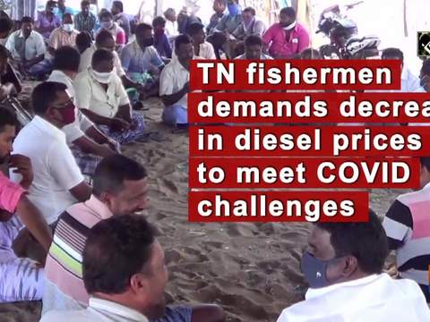TN fishermen demands decrease in diesel prices to meet COVID challenges