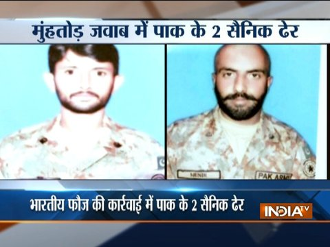 Two Pakistan Rangers killed in retaliatory fire by Indian Army