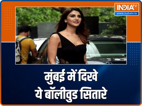 Pranutam Bahl, Raai Laxmi and other celebs make a splash in the city