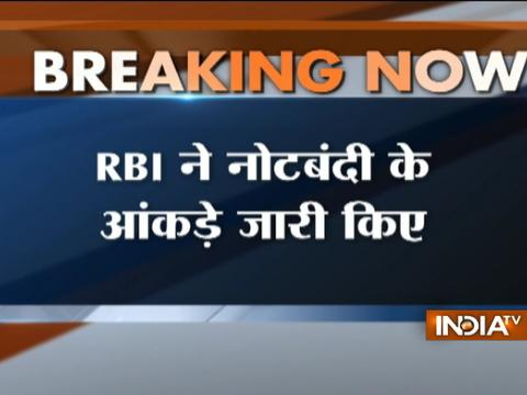 Demonetisation: Nearly all Rs 1000 notes returned, says RBI