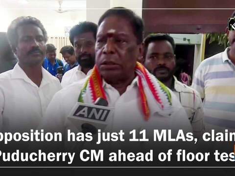 Opposition has just 11 MLAs, claims Puducherry CM ahead of floor test
