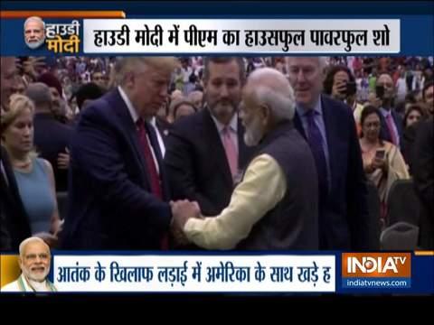 Howdy Modi: अमेरिका में दहाड़े पीएम नरेंद्र मोदी, बोले- जिनसे खुद का देश नहीं संभल रहा उन्हें 370 हटने से दिक्कत हो रही है