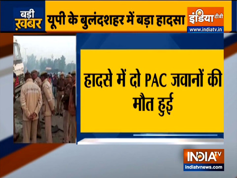 Bulandshahr: Two PAC jawans mowed down by speeding truck