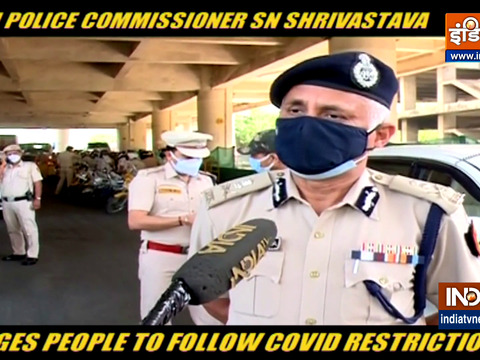 Delhi Police Commissioner SN Shrivastava urges people to follow Covid Restrictions