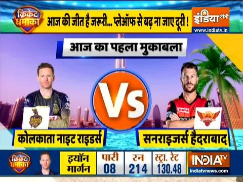 IPL 2020: Warner opts to bowl against KKR