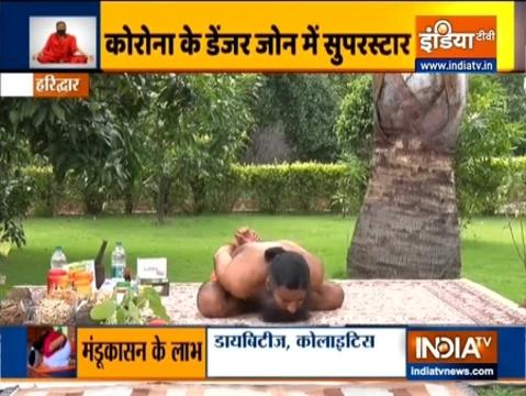 Swami Ramdev shares benefits of various yogasanas