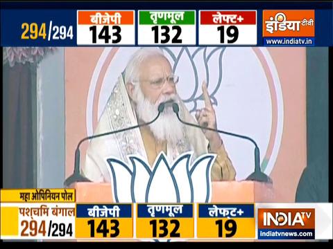 Development of Bengal is BJP's commitment: PM Modi
