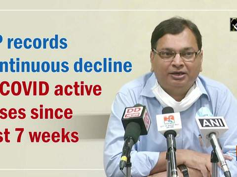UP records continuous decline in COVID active cases since last 7 weeks