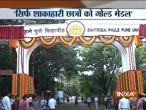 Only vegetarians, teetotallers to get gold medal, says Pune varsity circular