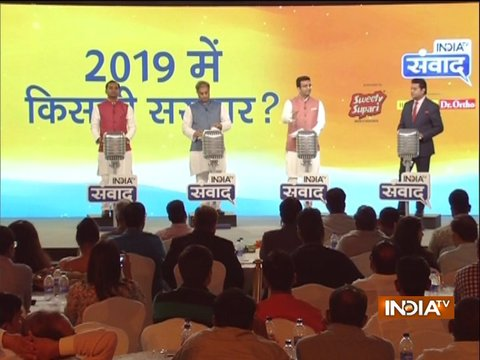 India TV Samvaad session with Gaurav Bhatia, Rajiv Tyagi and Sunil Sajan