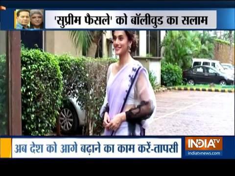 Ayodhya Verdict: Bollywood celebrities react to SC's judgement