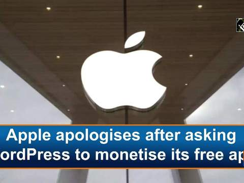 Apple apologises after asking WordPress to monetise its free app