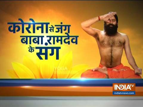 Swami Ramdev suggests yogasanas, pranayamas and ayurvedic treatment for allergies