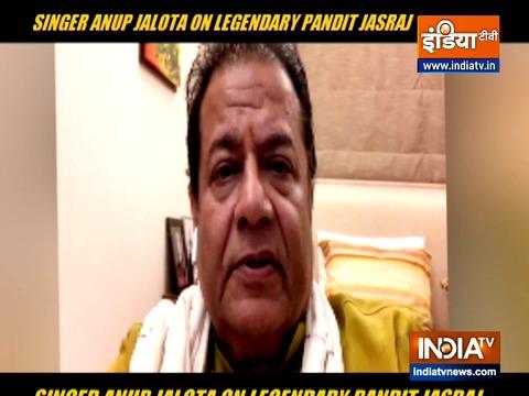 Anup Jalota on Pandit Jasraj death