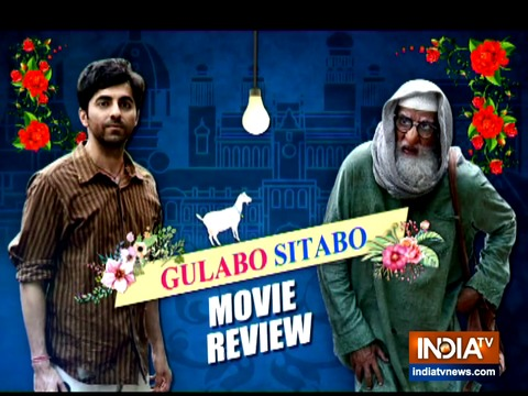 Movie Review: Amitabh-Ayushmann's Gulabo Sitabo is a must watch