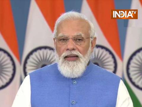 एक दिन में 2.5 करोड़ भारतीयों को कोरोना की वैक्सीन लगाई गई: ग्लोबल कोविड समिट में PM मोदी