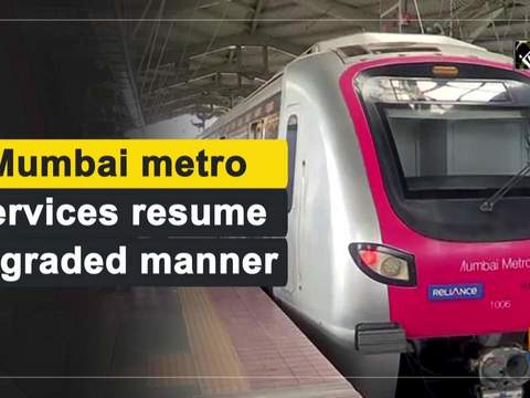 Mumbai metro services resume in graded manner