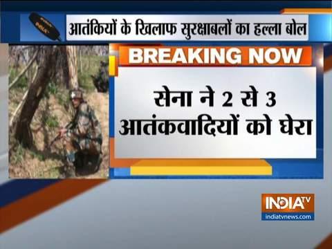 जम्मू कश्मीर: बारामुला में सुरक्षाबलों ने 2 से 3 आतंकियों को घेरा, तलाशी अभियान शुरू