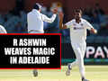 AUS vs IND, 1st Test: R Ashwin's magical four-fer helps India take 53-run lead in Adelaide