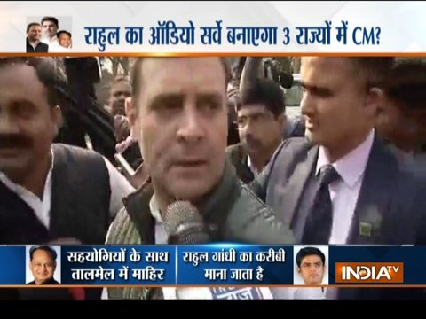 'Game of Thrones' continues in Rajasthan, MP, Chhattisgarh; Rahul to take final call on two CMs